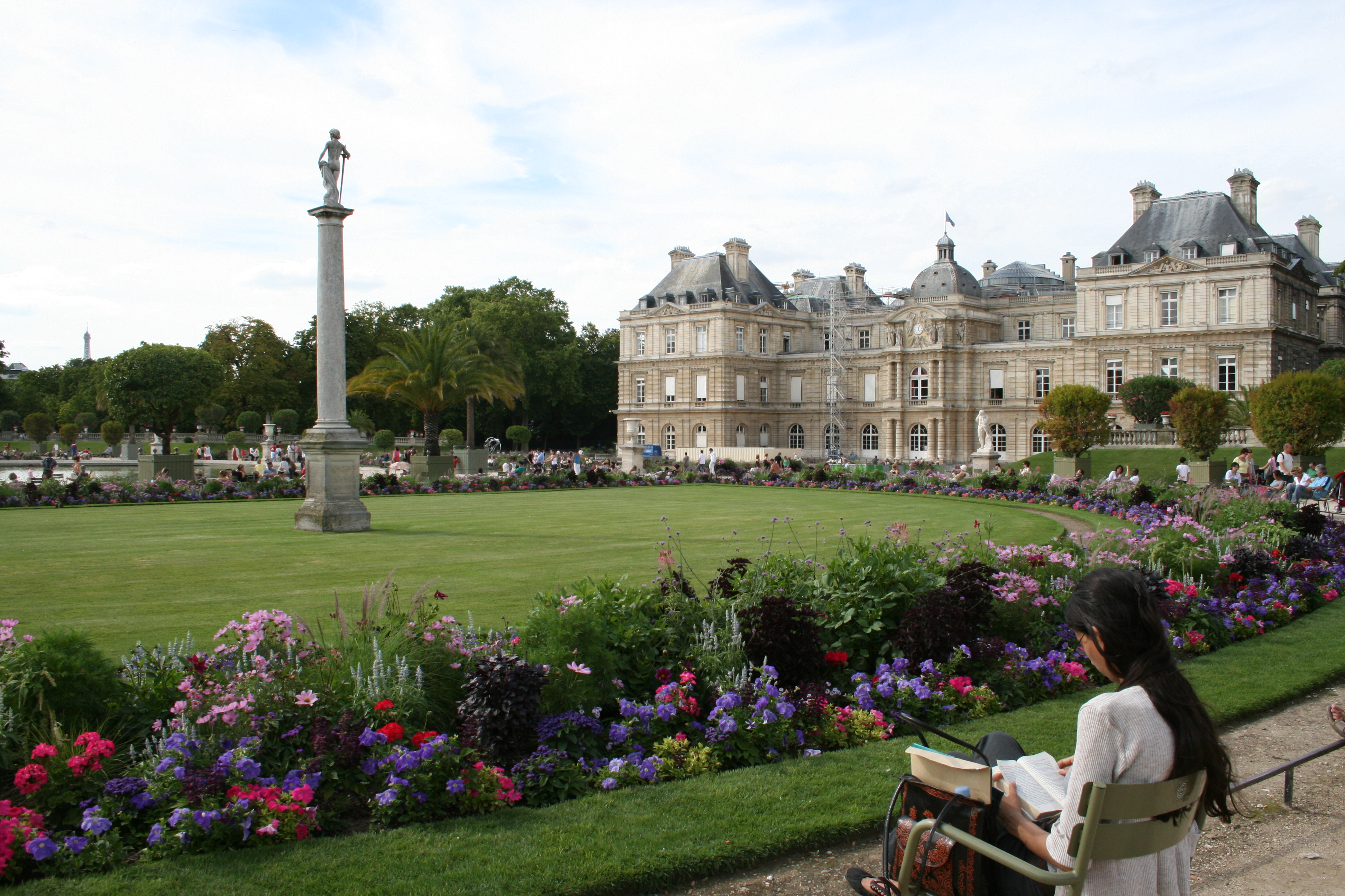 Merci marie j adore le jardin de luxembourg in the for Jardin luxemburgo